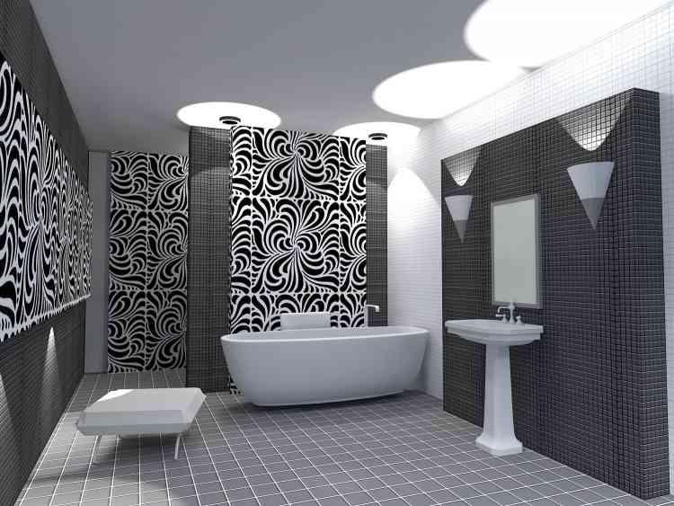 Szklane Panele łazienkowe Backsplash