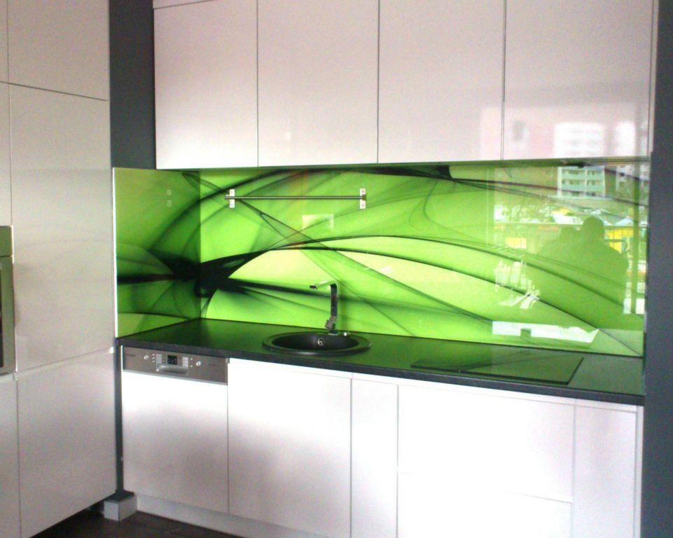 panele szklane do kuchni panele szklane abstrakcja zielona. Black Bedroom Furniture Sets. Home Design Ideas